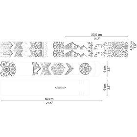 DYEDBRO Mandala Frame Protection Kit, transparente/blanco